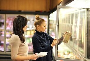Women looking at food label.jpg